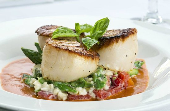 Butterfly Cafe : Succulent Florida Keys Scallops