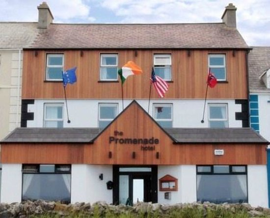 Бэллибьюнион, Ирландия: Promenade Hotel,  Ballybunion, Co Kerry