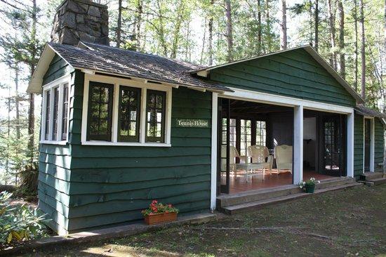 White Pine Camp: Tennis House