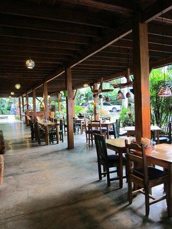 Hotel Banana Azul: Dining area.