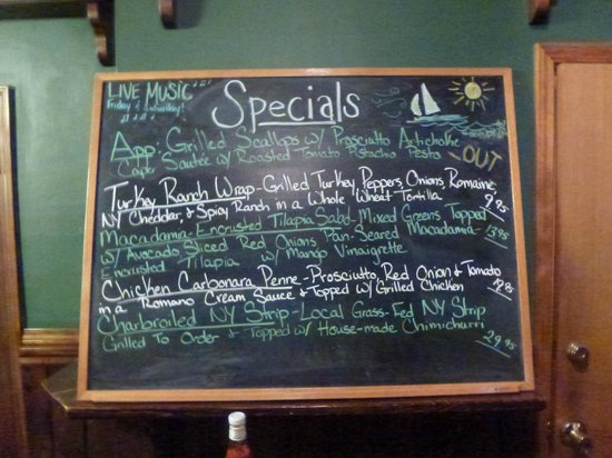 The Wildflower Café & The Crooked Rooster Brewpub : Rooster Fish Brewing Specials