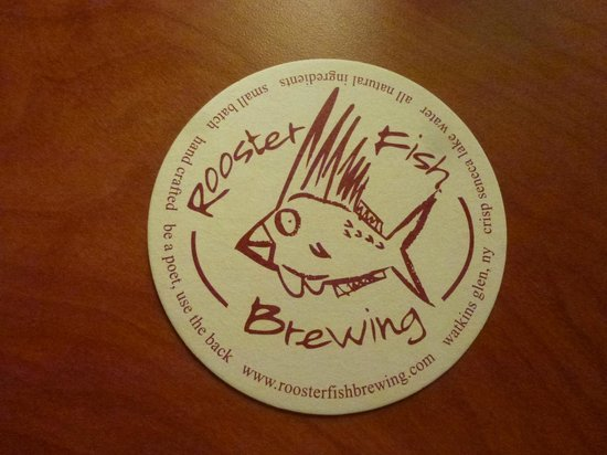 The Wildflower Café & The Crooked Rooster Brewpub : Rooster Fish Brewing Deckle