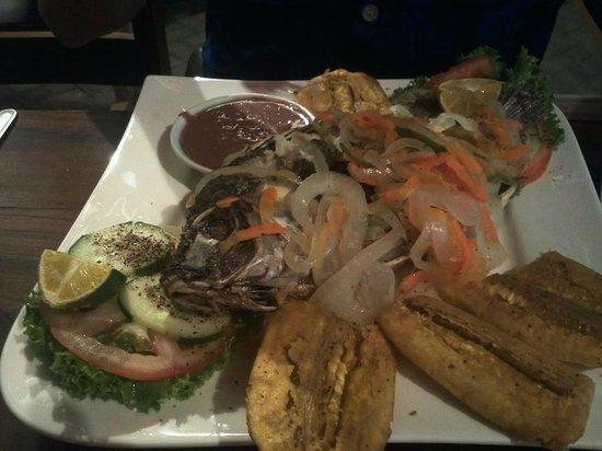 Samdix Place Caribean Food: The pickled fish