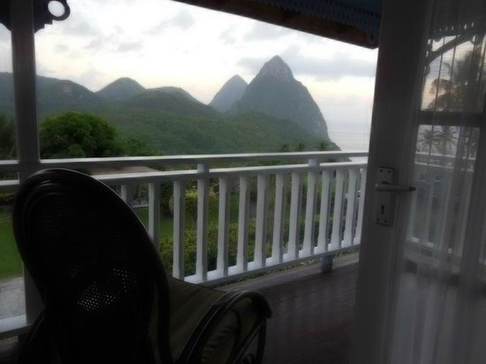 La Haut Resort: The Pitons