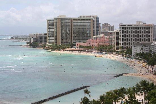 Aston Waikiki Beach Hotel: View