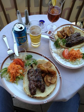 Topkapi Turkish Restaurant: Perfect lunch!