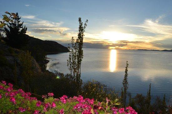 Isla Suasi Hotel : Atardecer