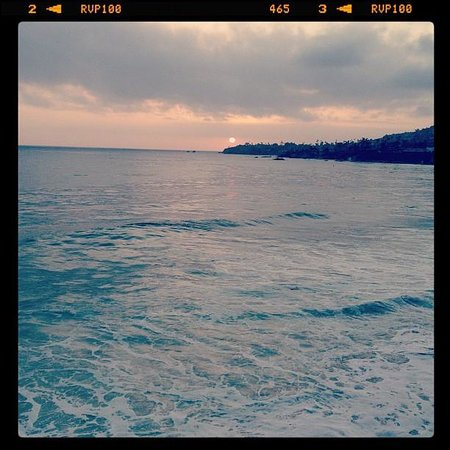 Pacific Edge Hotel on Laguna Beach: Watching sunset