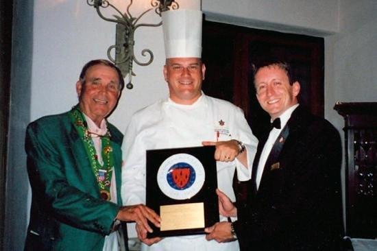 Sea Island Golf Club: Chaine des Rotisseurs award dinner