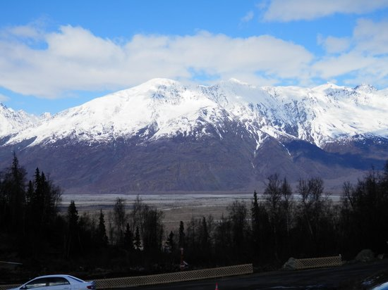 Knik River Lodge: View from lodge