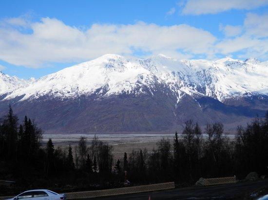 كنيك ريفر لودج: View from lodge