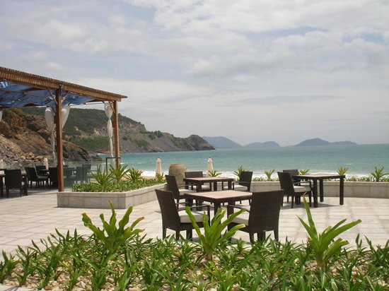 Mia Resort Nha Trang: The view from the restaurant