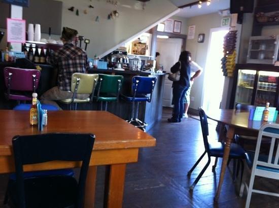 The Larkspur Cafe: Add a caption