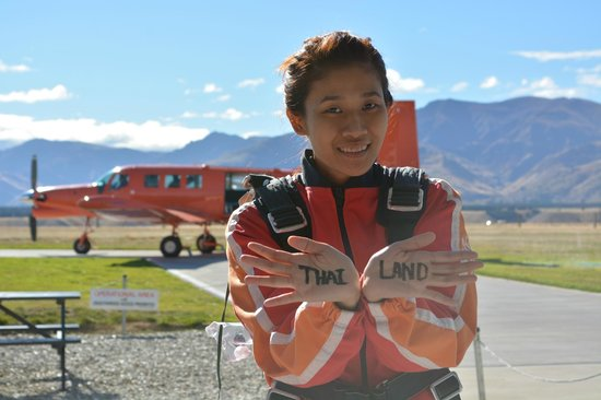 Skydive Wanaka: 1st time in New Zealnd, 1st time in Wanaka and 1st for sky dive but it's not a last time to visi