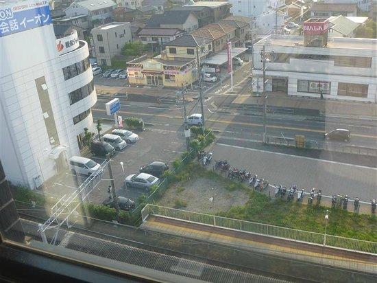 Meitetsu Inn Chita Handaekimae : 窓から