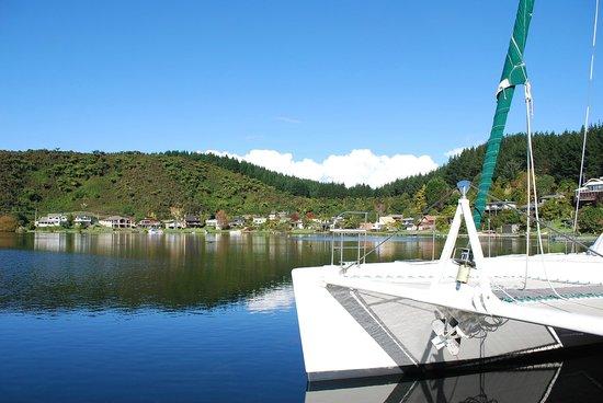 VR Rotorua Lake Resort : Lake view