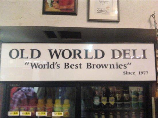 Old World Deli: Worlds best??  Not.