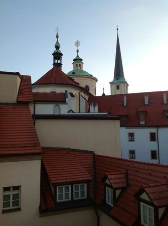 Augustine, a Luxury Collection Hotel, Prague: My bathroom window view