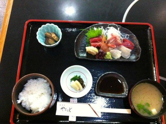 Nikunoyamamoto: Niku no Yamamoto Sashimi Lunch Set