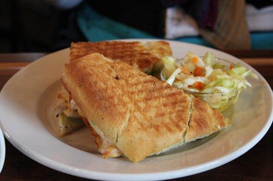 Auntie Pesto's Cafe: Chicken Panini