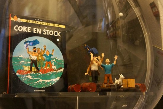 Ibis Styles Strasbourg Centre Gare: They had Tintin and company on display
