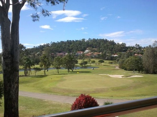 McLeod Country Golf Club: View from the verandah