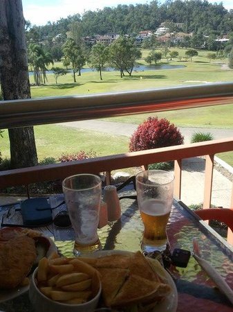 McLeod Country Golf Club: Bacon tomato n cheese toasted
