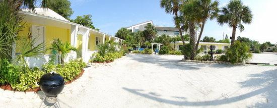 Tropical Breeze Beach Club Outside