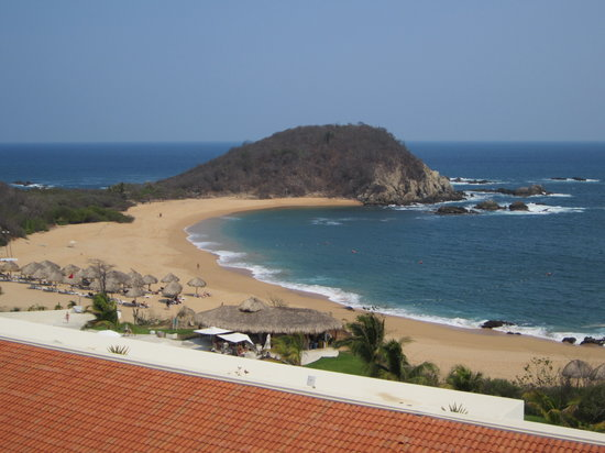 Secrets Huatulco Resort & Spa: ocean view from room