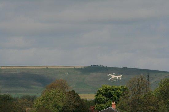 Cherhill White Horse and Monument: die begleiten uns in ganz wiltshire