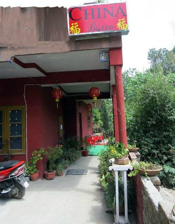 China Bistro: The entrance to the restaurant