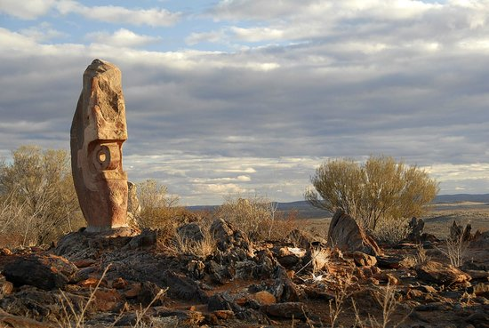 Red Earth Motel : Broken Hill Desert Sculptures