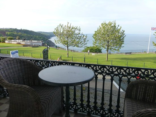 The Downs, Babbacombe: Double balconyrtoom