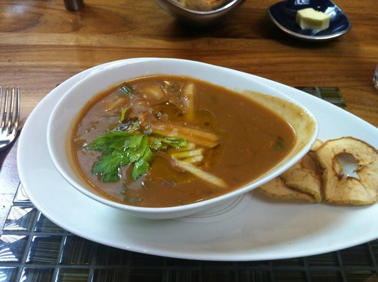 YEW seafood + bar: Delicious soup