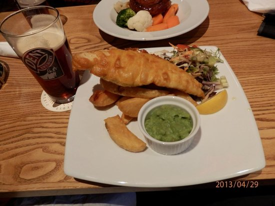 The Lamb Inn: Fish and chips