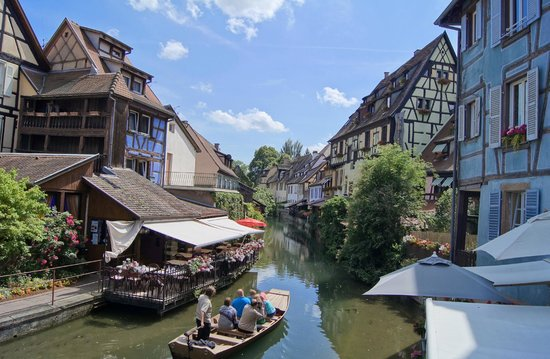 Colmar, Prancis: La petite Venise - Ballade en barque