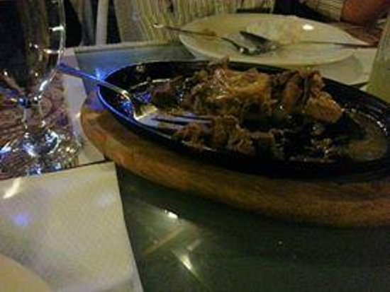 Amigo Terrace Hotel: Alfonso's Treat at Al Fresco Restaurant. Yummy!