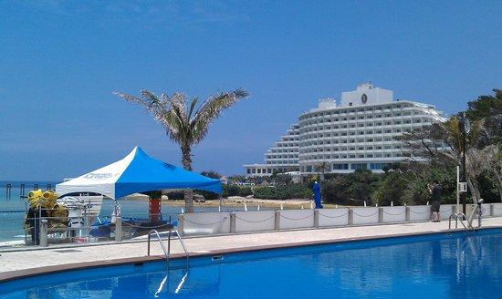 ANA InterContinental Manza Beach Resort: Private Beach & Pool