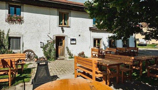 Restaurant Les Chatons: Terrasse