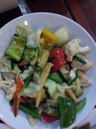 Su Chilli : Mixed vege