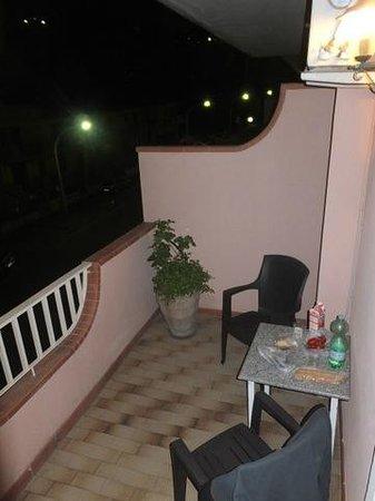 D'Orange D'Alcantara: Balkon