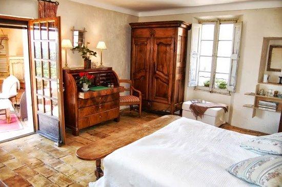 Muller's Bed & Breakfast : Master bedroom with terrace