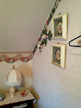 Homespun Country Inn: Detalle de la pared