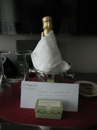 Hotel Monna Lisa: cadeaux dell'hotel x compleanno