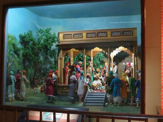 Maharajah Ranjit Singh Panorama : scenes from his life (dolls)