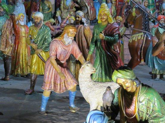 Maharajah Ranjit Singh Panorama : statues