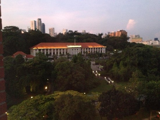 Fort Canning Lodge: Fort Canning park & Hotel