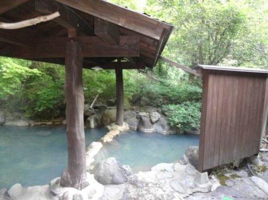 Ryukeien : 男性の露天風呂 一人でのんびり入れます 2-2