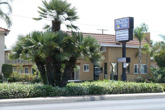 Pacific Inn: l'environnement est passant mais agréable