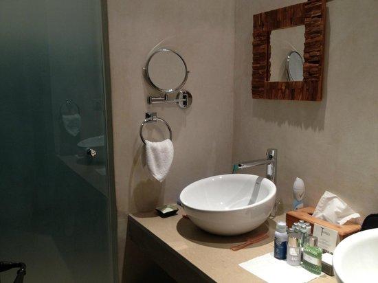Tigmiza - Suites & Pavillons : Notre salle de bains